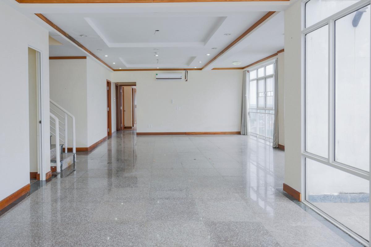 Không gian tầng 1 Lofthouse 3 tầng tháp B Hoàng Anh Gold House