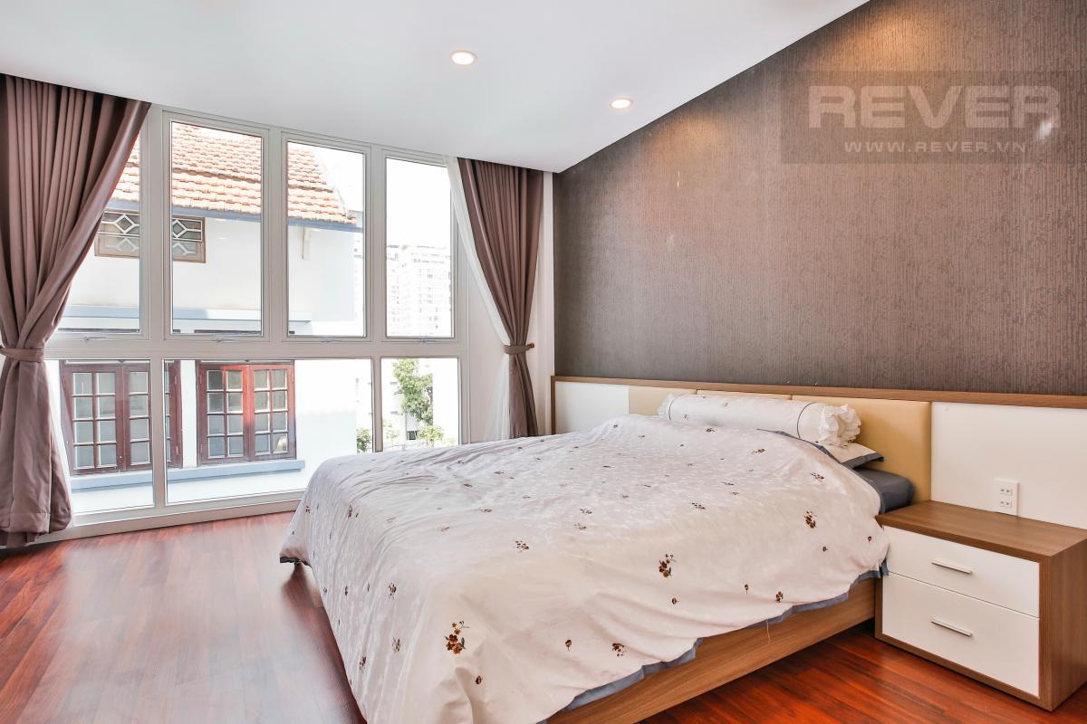 Phòng ngủ đón gió Nhà phố 3 tầng Phạm Thái Bường Quận 7