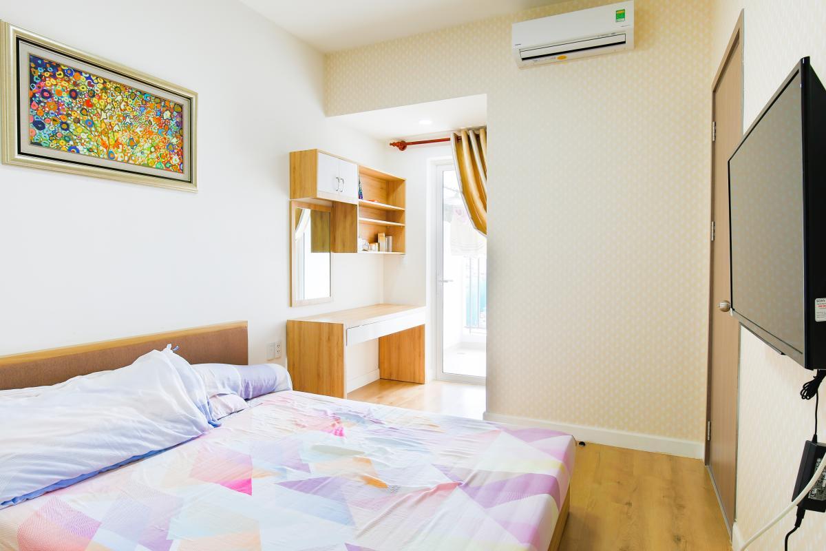 Nội thất phòng ngủ Căn hộ Galaxy 9 tầng thấp G1 2 phòng ngủ, đủ nội thất