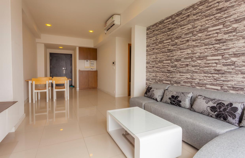 Phòng khách Căn hộ tháp V4 Sunrise City