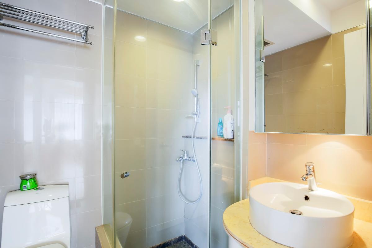 Phòng tắm 2 Căn góc tầng cao Ruby 1 Sài Gòn Pearl