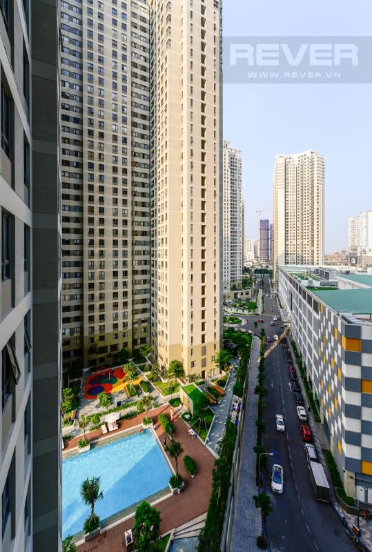 Cảnh quan nhìn từ căn hộ Căn hộ Masteri Thảo Điền tầng cao T1A hướng Đông Bắc, đủ nội thất