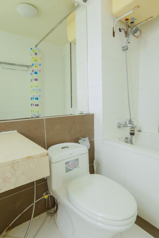 Phòng tắm 1 Căn góc Mỹ Phát tầng cao hướng Tây Nam