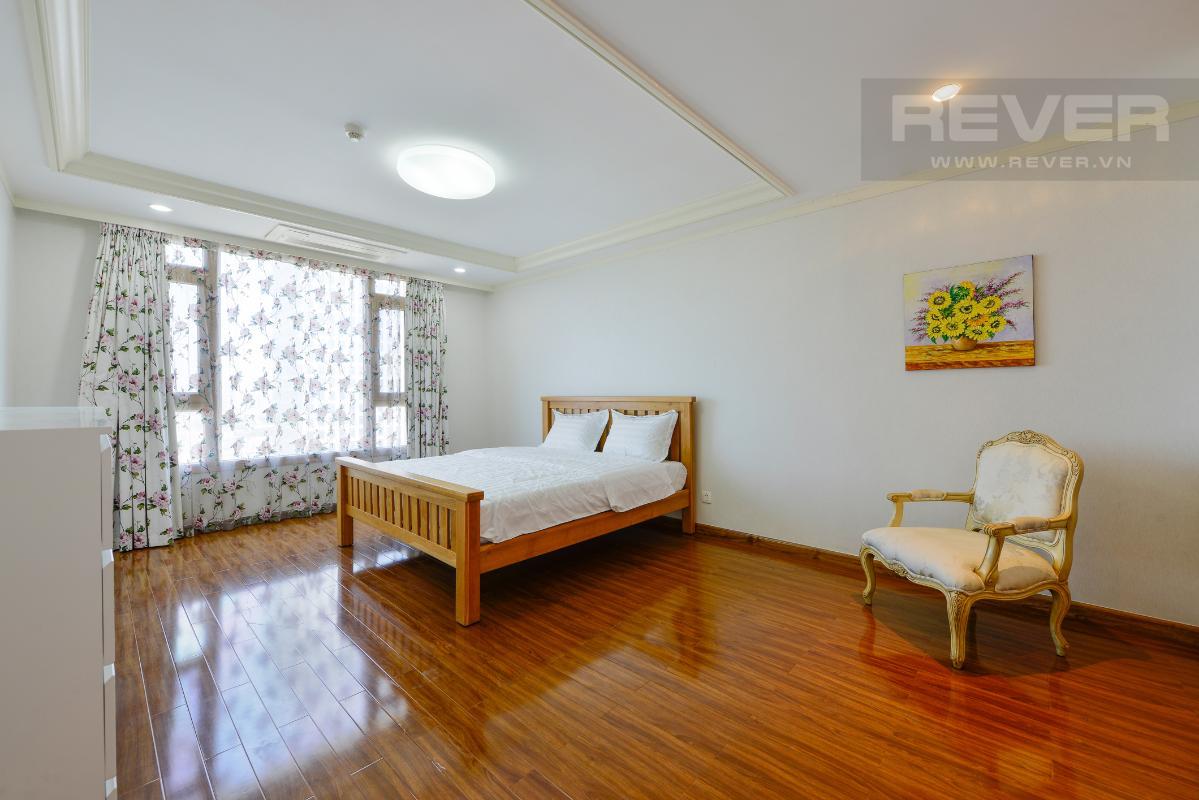 Phòng ngủ 2 Penthouse 2 tầng hướng Tây Bắc Cantavil Hoàn Cầu