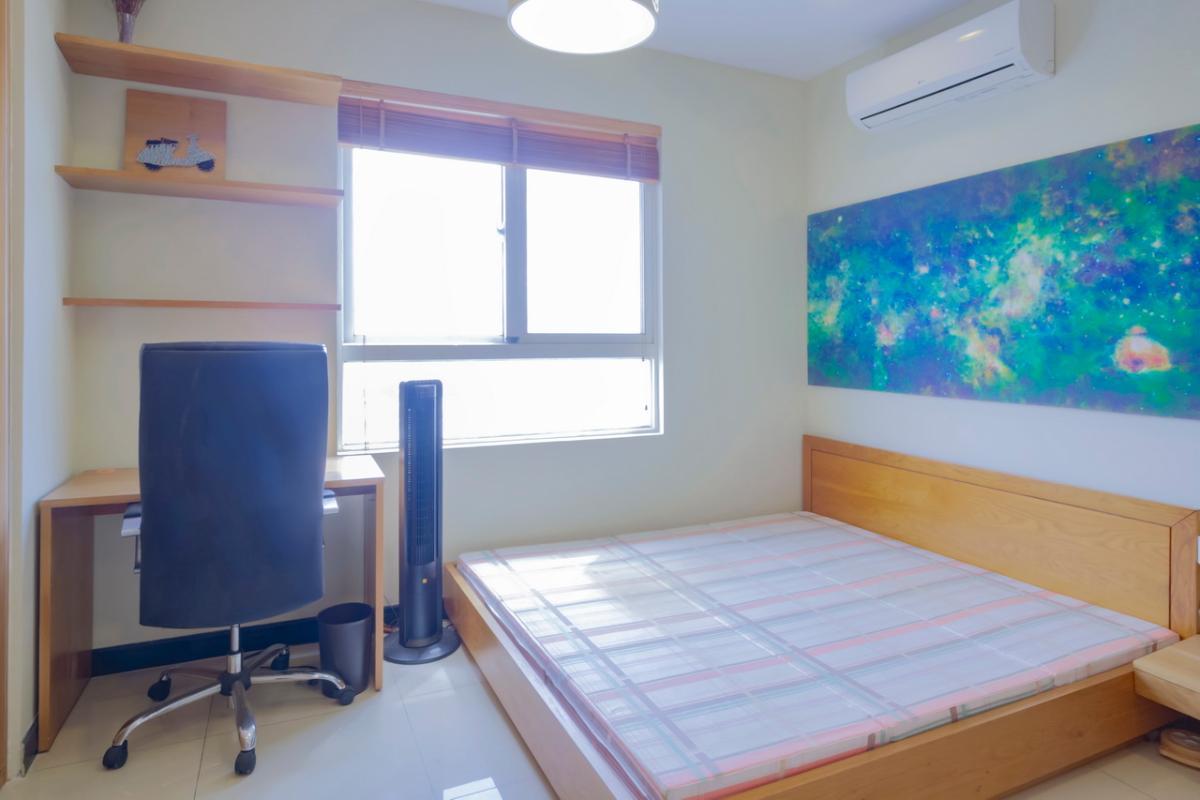Nội thất phòng ngủ chính Căn hộ tầng cao Flemington
