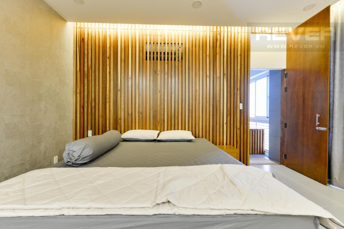 Phòng ngủ 2 ở tầng trên.jpg Lofthouse tháp M Star Hill Phú Mỹ Hưng