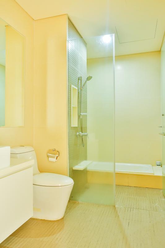 Phòng tắm 1 Căn hộ 2 phòng ngủ tầng cao T2 The Vista An Phú