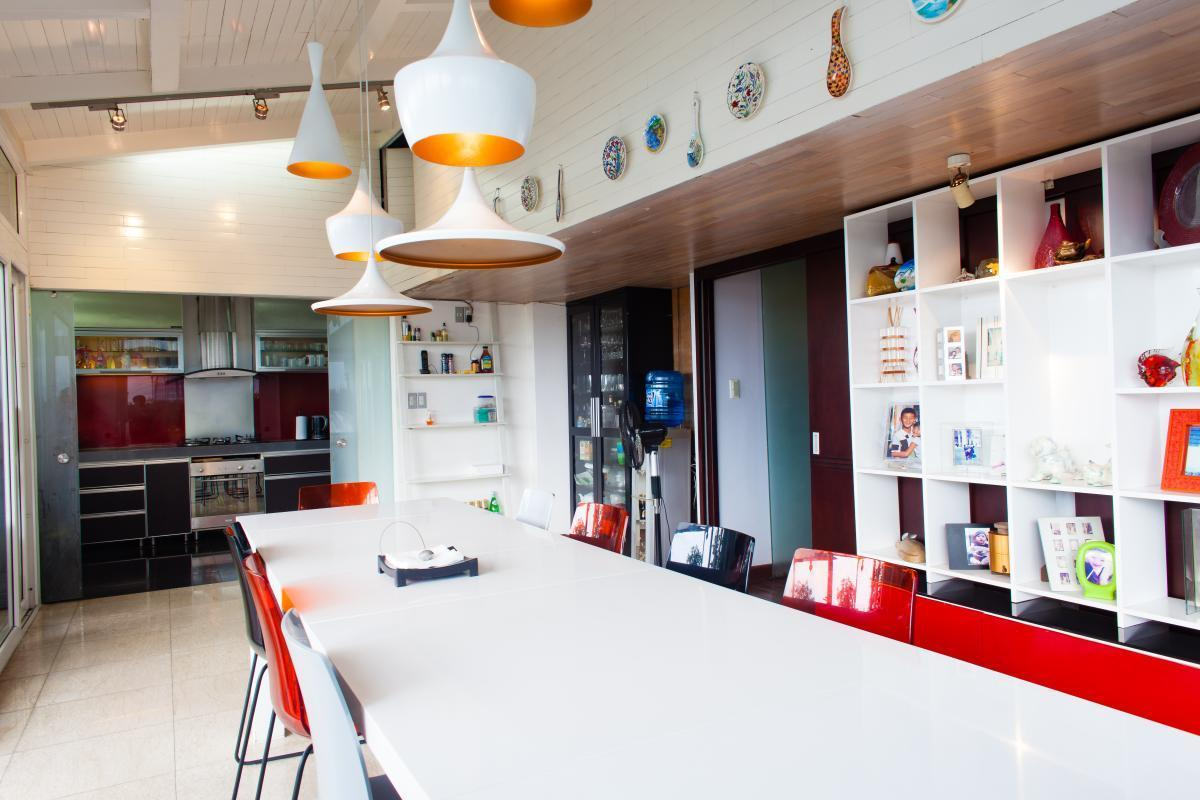 Phòng ăn Penthouse hướng Bắc AE Mỹ Khánh 2