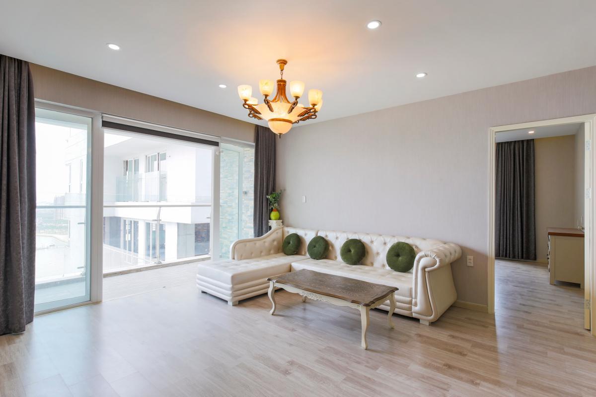 Ghế sofa kiểu dáng Hoàng Gia Căn góc tầng cao Tower 3 Brilliant