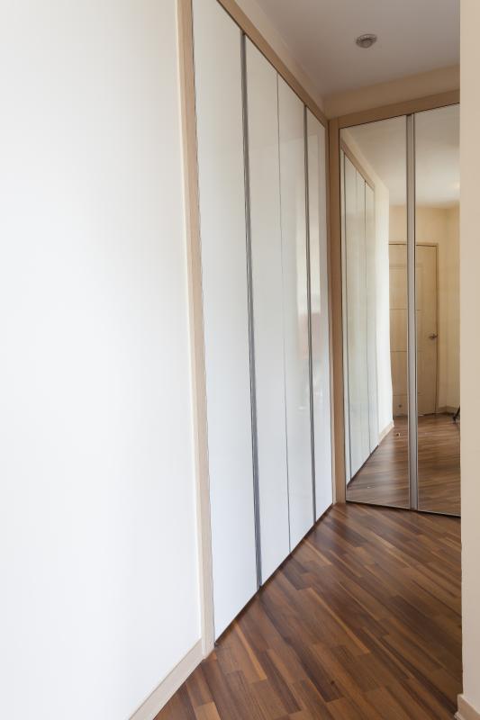 Hành lang kết hợp tủ đồ Căn hộ tầng cao A3 Imperia An Phú