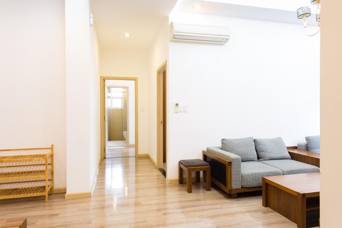 Lối đi vào phòng ngủ căn hộ SEM Residence. Căn hộ hướng Bắc SEM Residence
