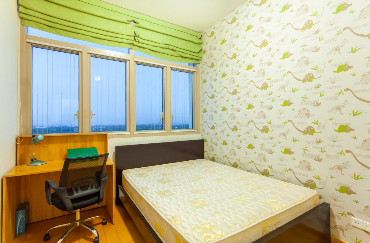 Phòng ngủ phụ Căn góc tầng cao tháp T4 The Vista An Phú