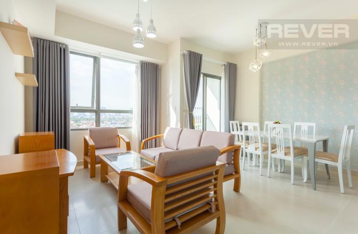 Cho thuê căn góc 2 phòng ngủ trung tầng T2B Masteri Thảo Điền