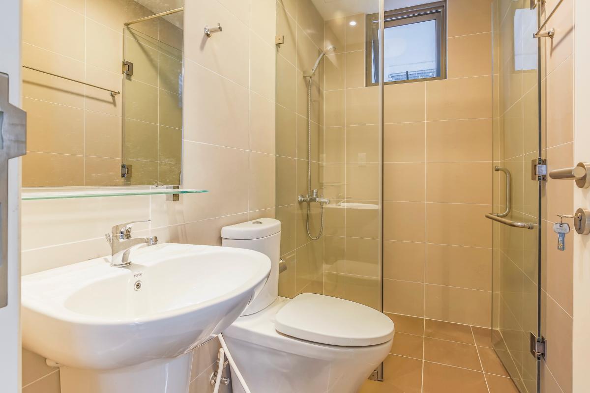 Phòng tắm 1 Căn góc trung tầng T4B Masteri Thảo Điền