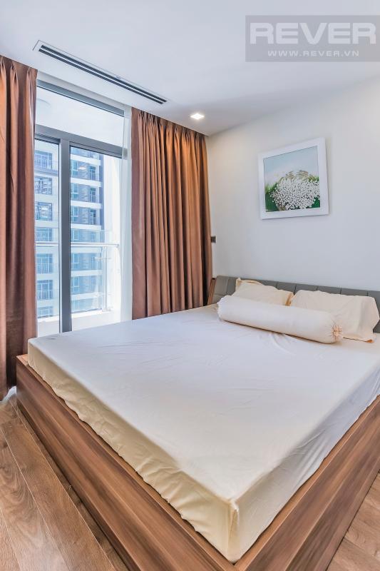 Phòng ngủ 2 Căn hộ hướng Tây tầng cao P1 Vinhomes Central Park