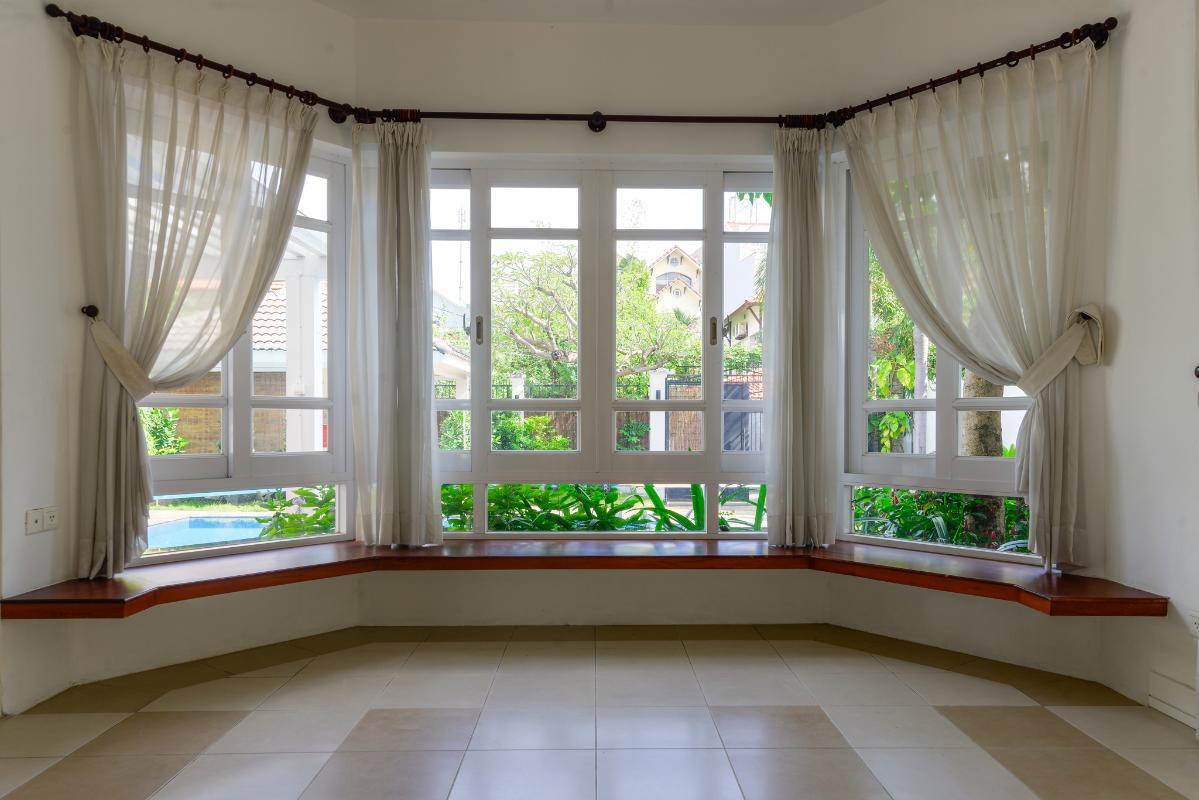 Không gian cho phòng khách Villa 3 tầng ABC Compoud Trần Não