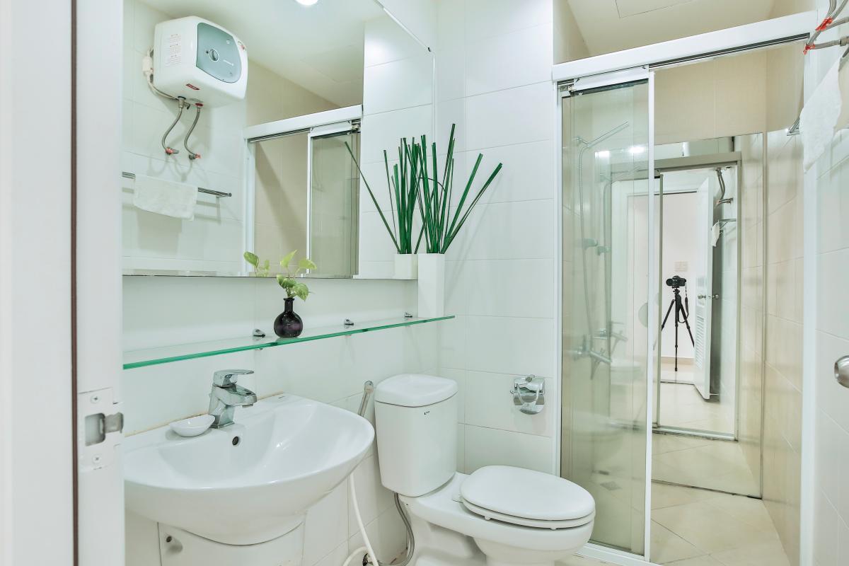 Phòng tắm Căn góc tầng cao CK Riverside Residence