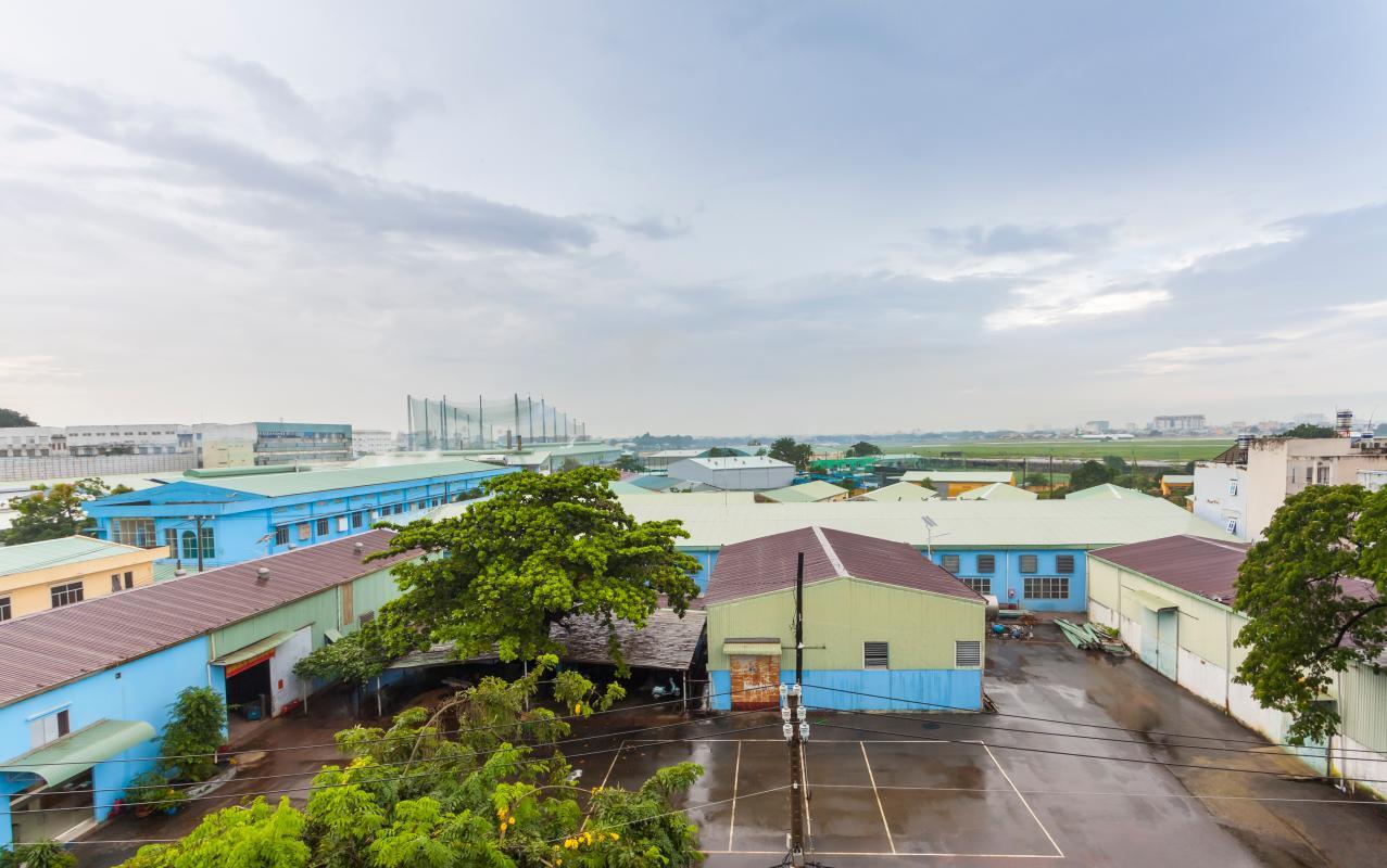 View từ nhà Nhà 5 tầng hướng Tây mặt tiền  Trần Văn Dư Tân Bình