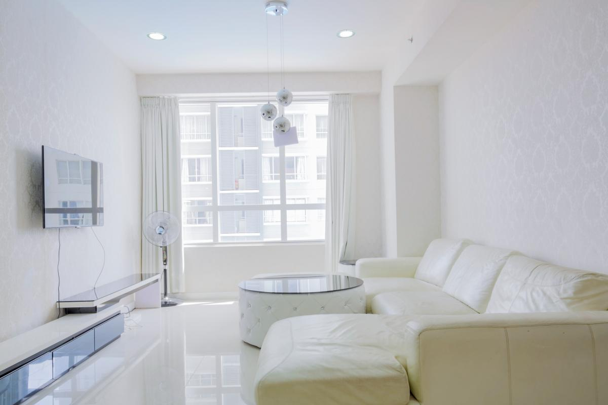 Phòng khách Căn hộ tầng cao tháp V5 Sunrise City