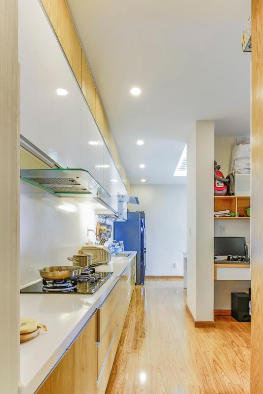 Phòng bếp Căn hộ tầng cao tháp F Star Hill