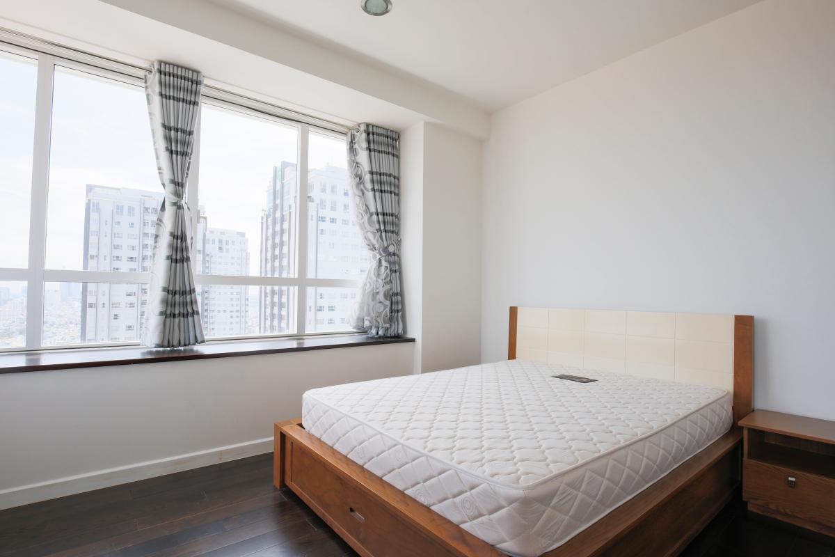Phòng ngủ Căn góc tầng cao tháp V3 Sunrise City