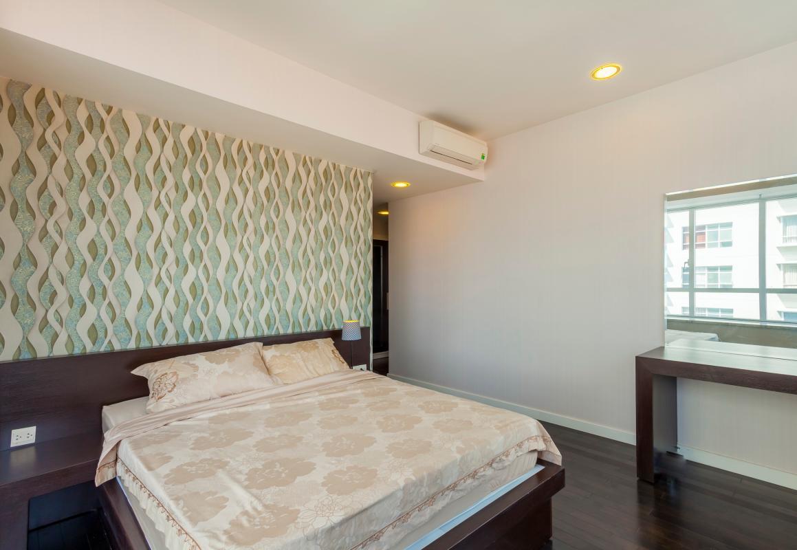 Phòng ngủ 2 Căn góc trung tầng V1 Sunrise City