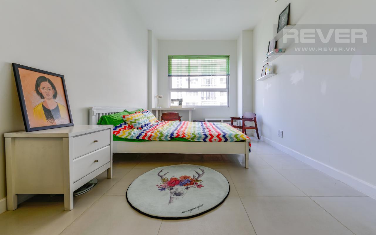 Phòng ngủ trẻ trung Căn hộ Lexington Residence tầng trung tháp LB hướng Tây Bắc