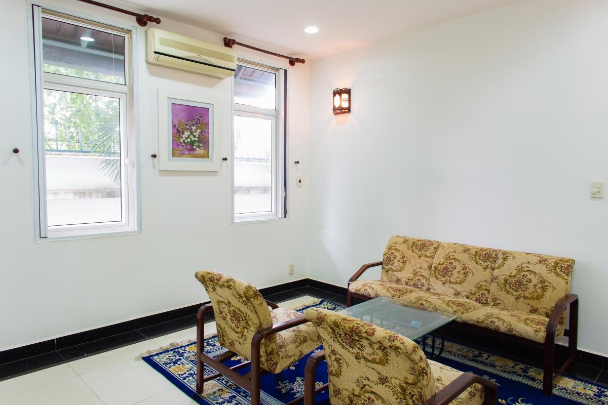 Phòng khách phụ Villa đường số 14 Fideco Thảo Điền Quận 2