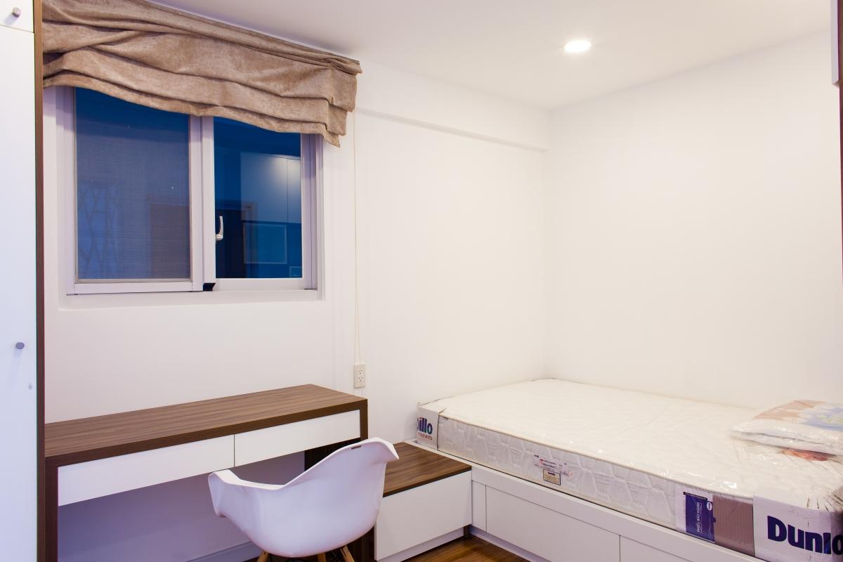 Phòng ngủ nhỏ Căn hộ tầng cao tháp L Happy Valley
