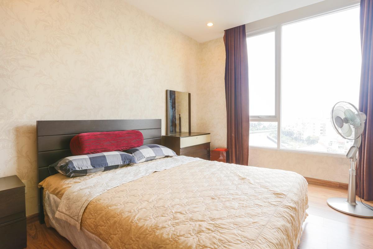 Phòng ngủ phụ Căn góc tầng cao Horizon Trần Quang Khải