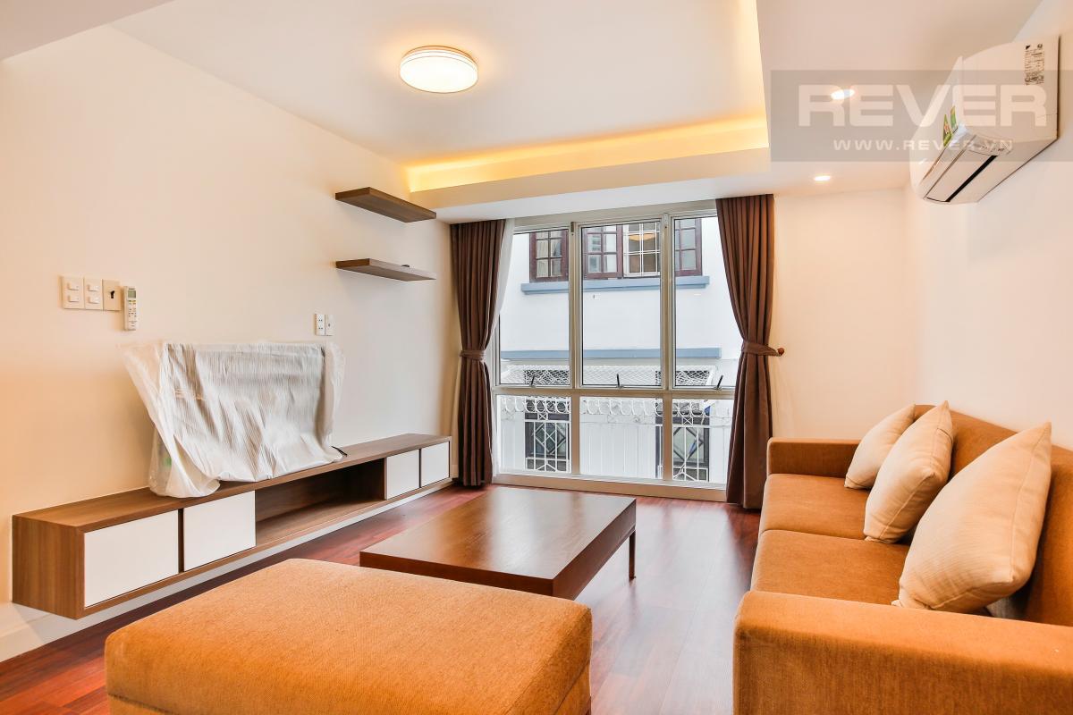 Phòng khách tầng 1 sang trọng Nhà phố 3 tầng Phạm Thái Bường Quận 7