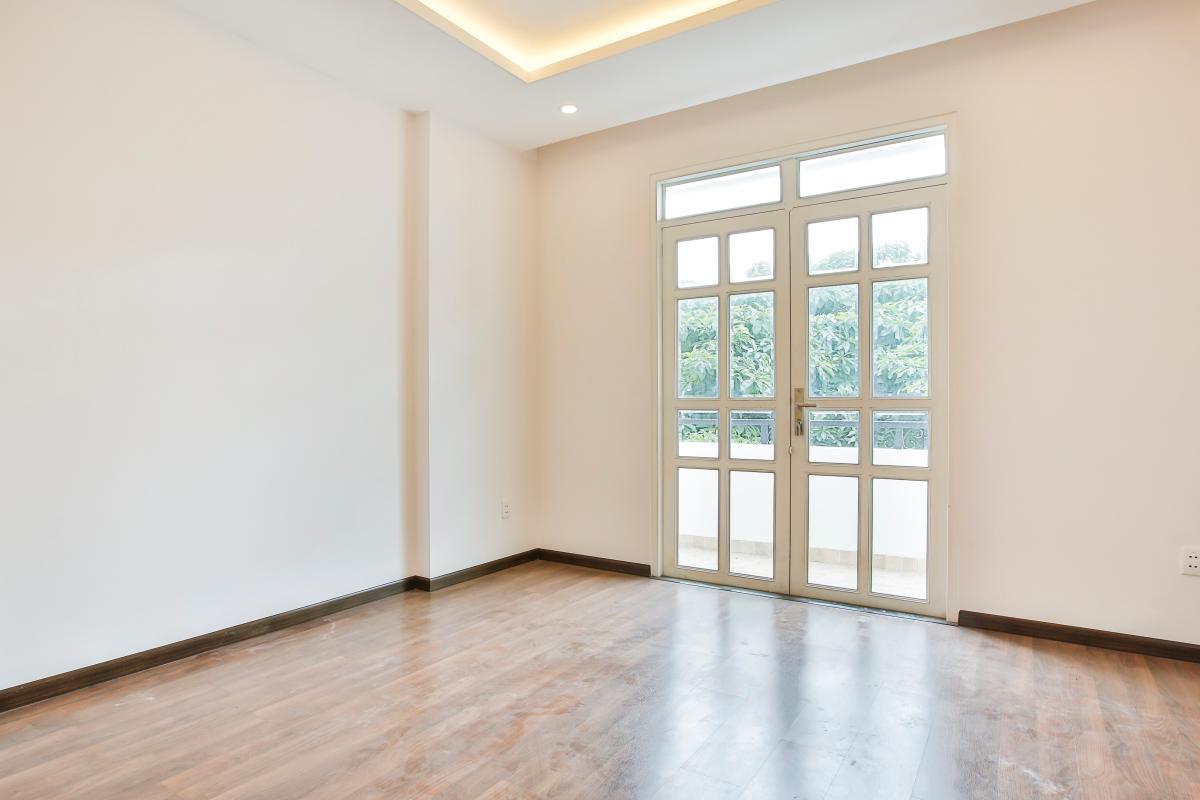 Phòng ngủ ở tầng lầu Villa 3 tầng Lương Định Của Thủ Thiêm