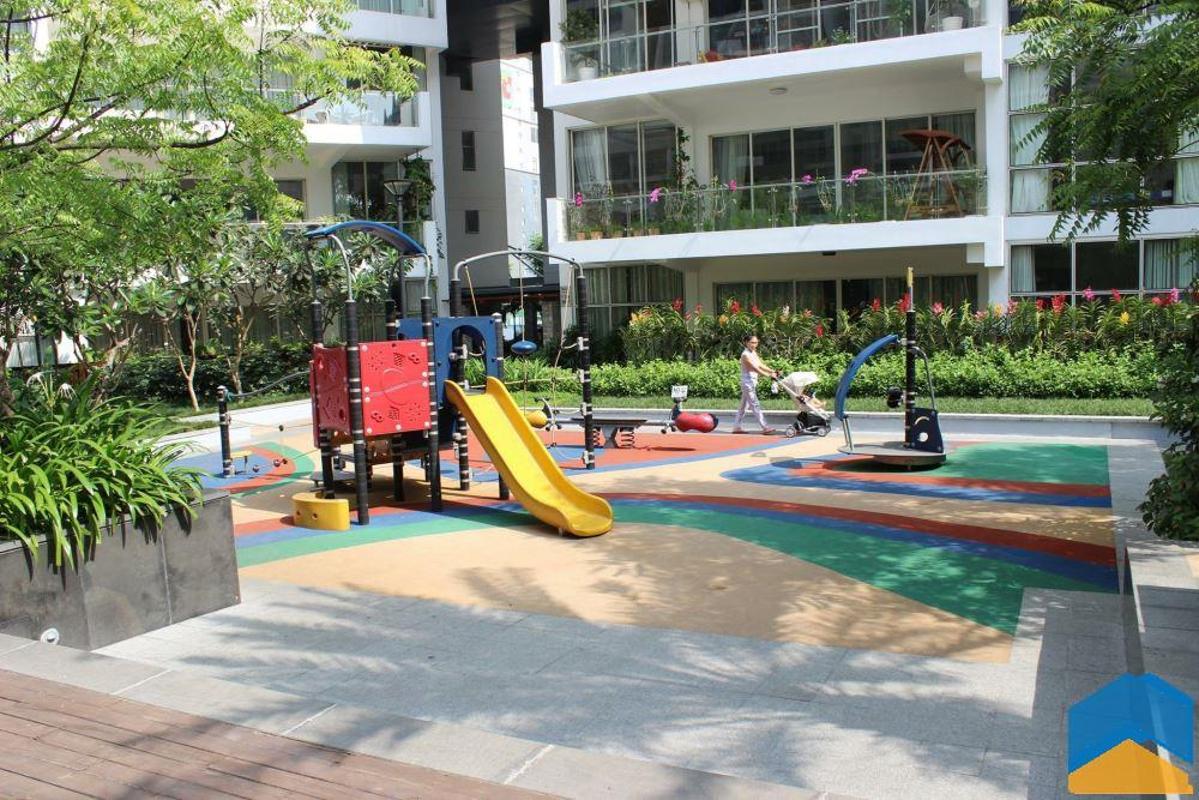 Sân chơi ngoài trời cho trẻ em Cho thuê căn hộ tầng cao 3A The Estella An Phú