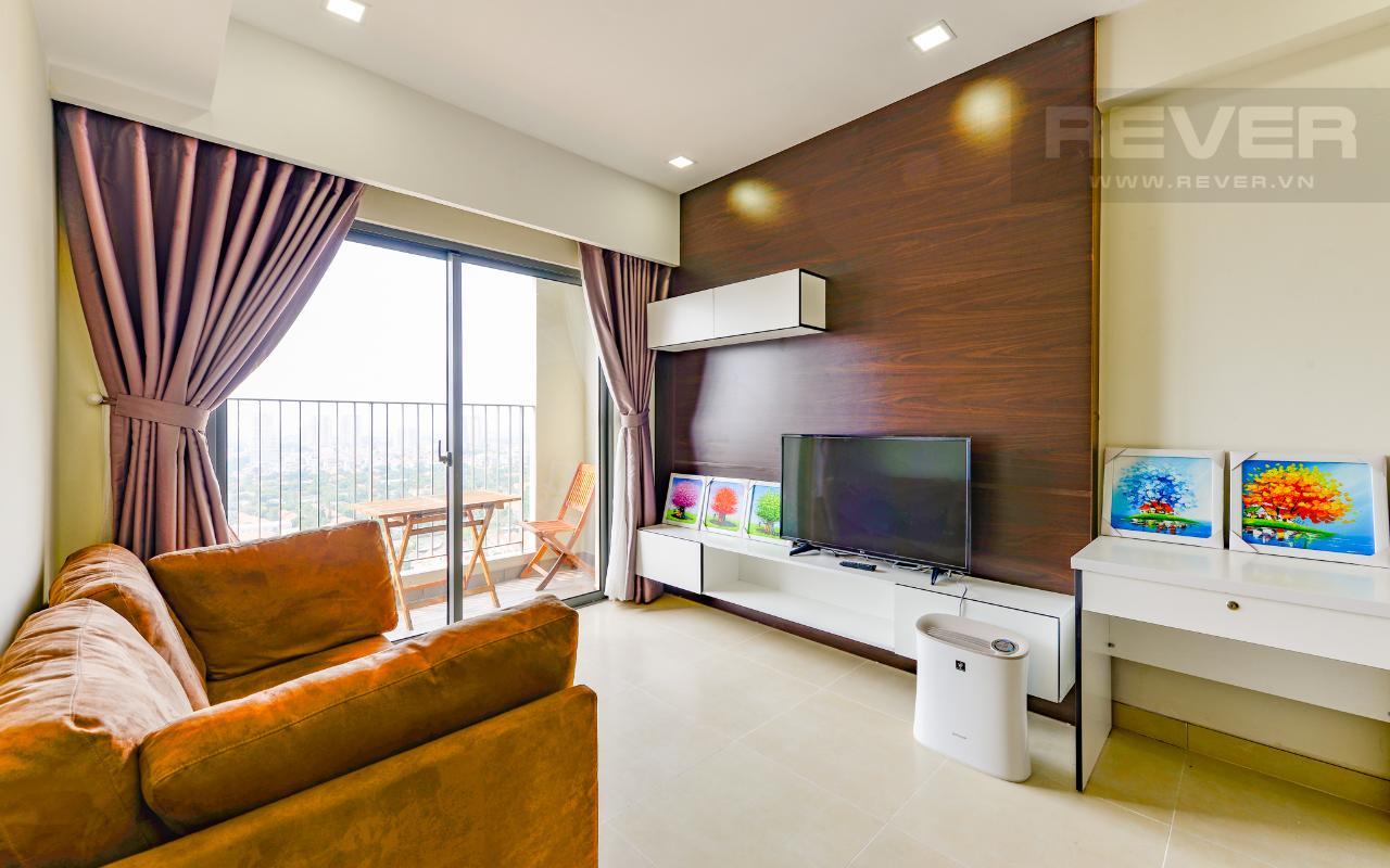 Phòng Khách Căn hộ tầng cao T2B Masteri Thảo Điền