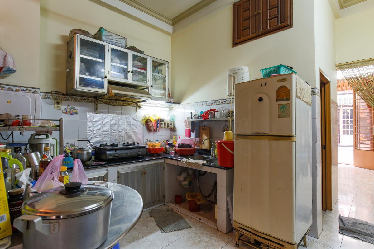 Phòng bếp Nhà 4 tầng hai mặt tiền hẻm Hậu Giang Quận 6