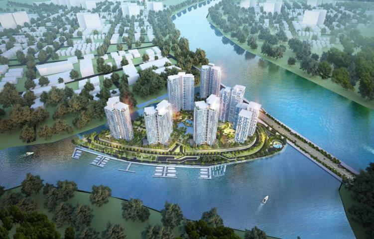 """Đảo Kim Cương nhận giải thưởng danh giá """"Không gian sống xanh và biệt lập của năm"""""""