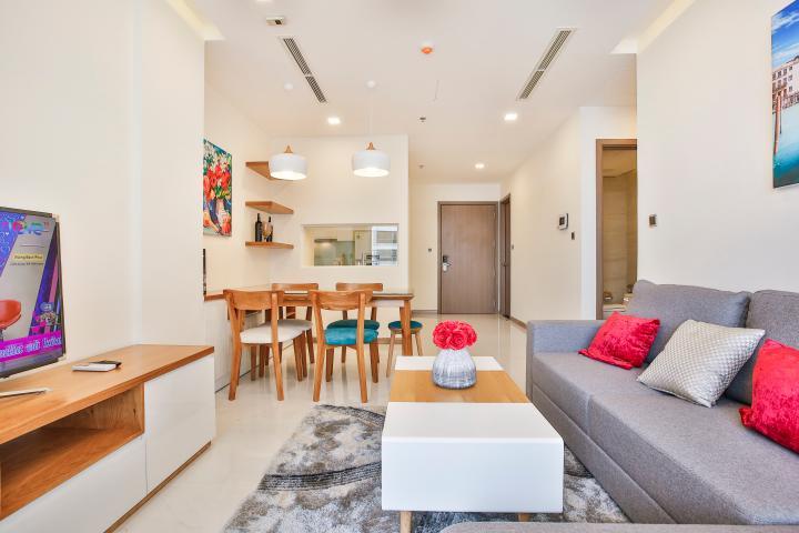 Căn hộ tầng cao 2 phòng ngủ hướng Đông Bắc P5 Vinhomes Central Park