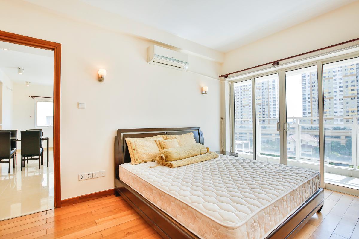 Phòng ngủ chính Căn hộ 2 phòng ngủ River Garden Thảo Điền