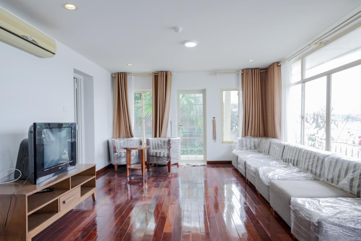 Phòng khách Villa mini Nguyễn Văn Hưởng
