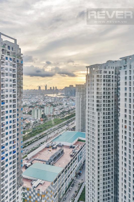view phòng ngủ Căn góc tầng cao tháp T4 Masteri Thảo Điền, RV1141