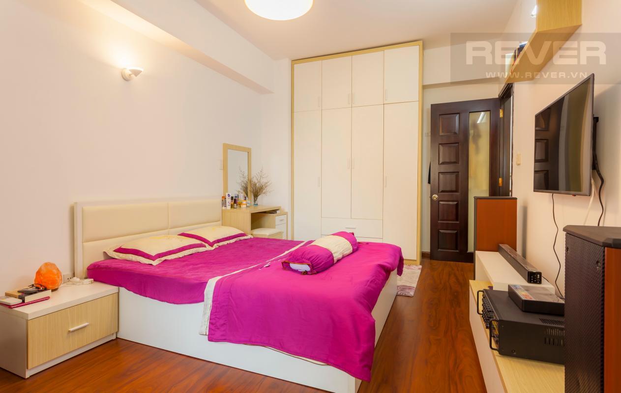 Phòng ngủ Căn hộ hướng Tây Bắc tầng cao tháp A Chung cư Khang Gia