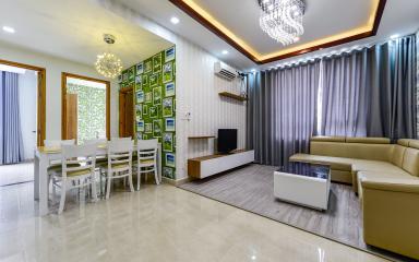 Căn hộ CBD Premium Home tầng cao 3 phòng ngủ hướng Tây Nam