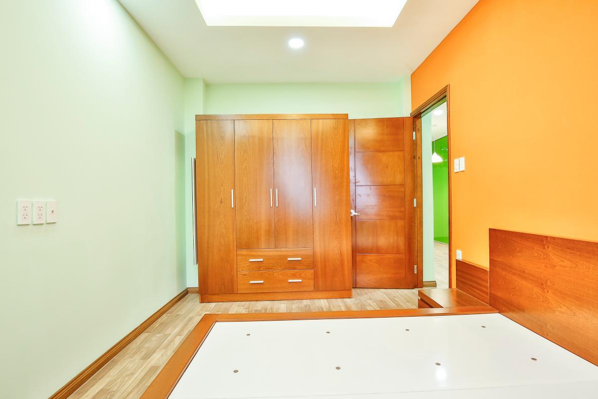 Phòng ngủ Căn hộ 2 phòng ngủ chung cư Nguyễn Tri Phương