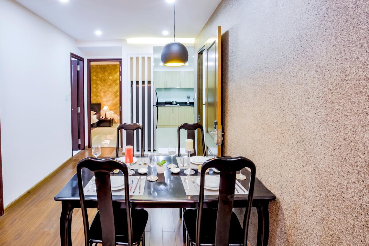 Bàn ăn Căn hộ 2 phòng ngủ Võ Văn Tần