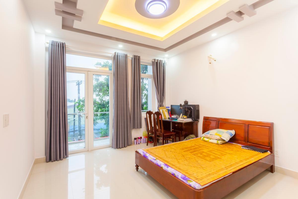 Phòng ngủ 1 Nhà 5 tầng hướng Tây mặt tiền  Trần Văn Dư Tân Bình