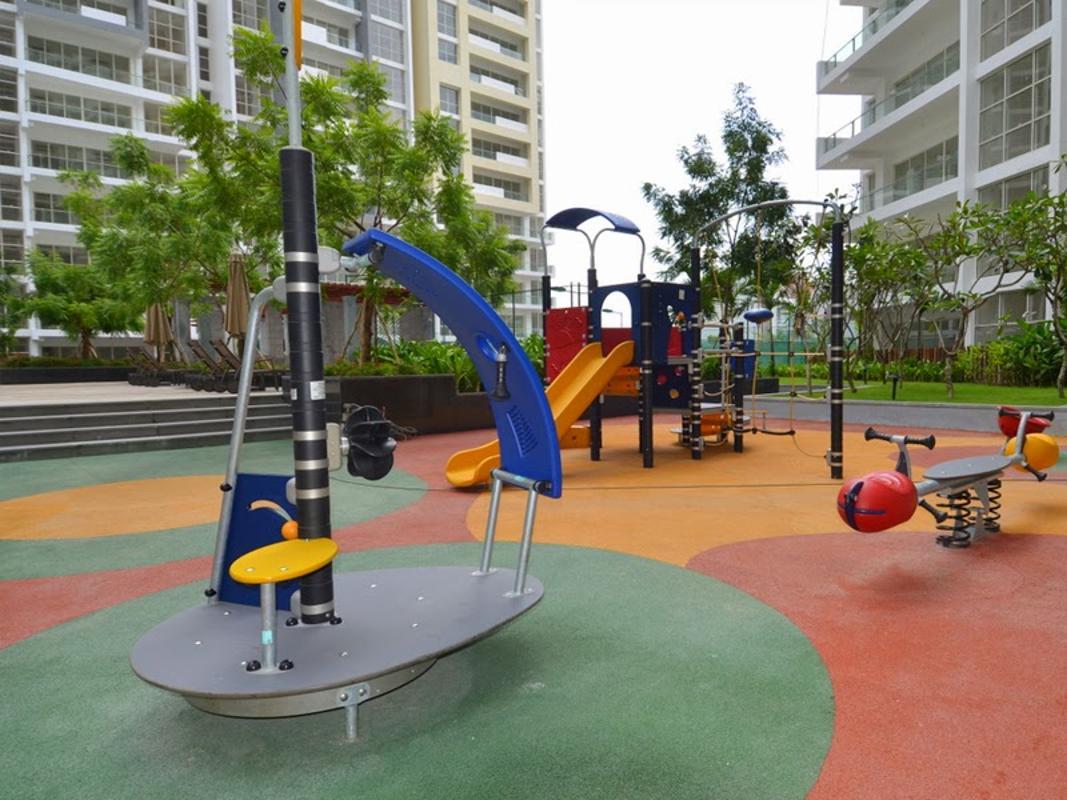 Sân chơi cho trẻ em Cho thuê căn hộ tầng cao 3A The Estella An Phú