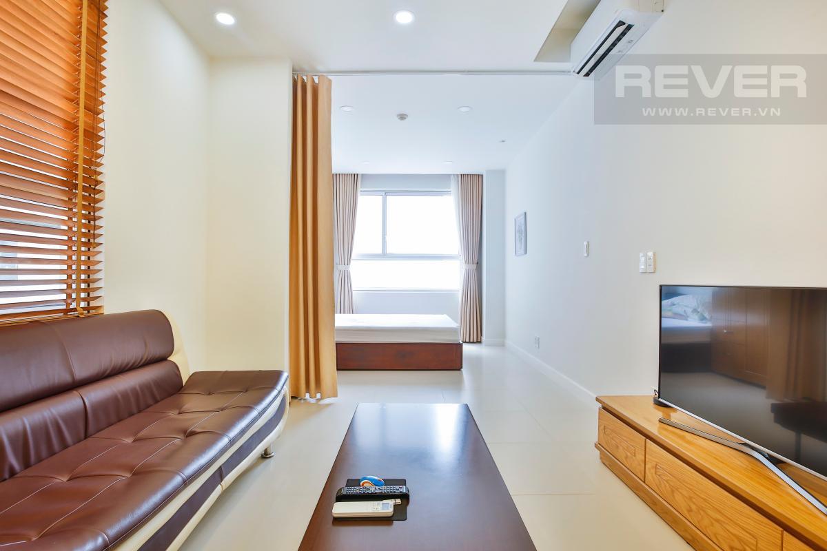 Thiết kế không gian mở Căn hộ Lexington Residence 1 phòng ngủ tầng cao tháp LC