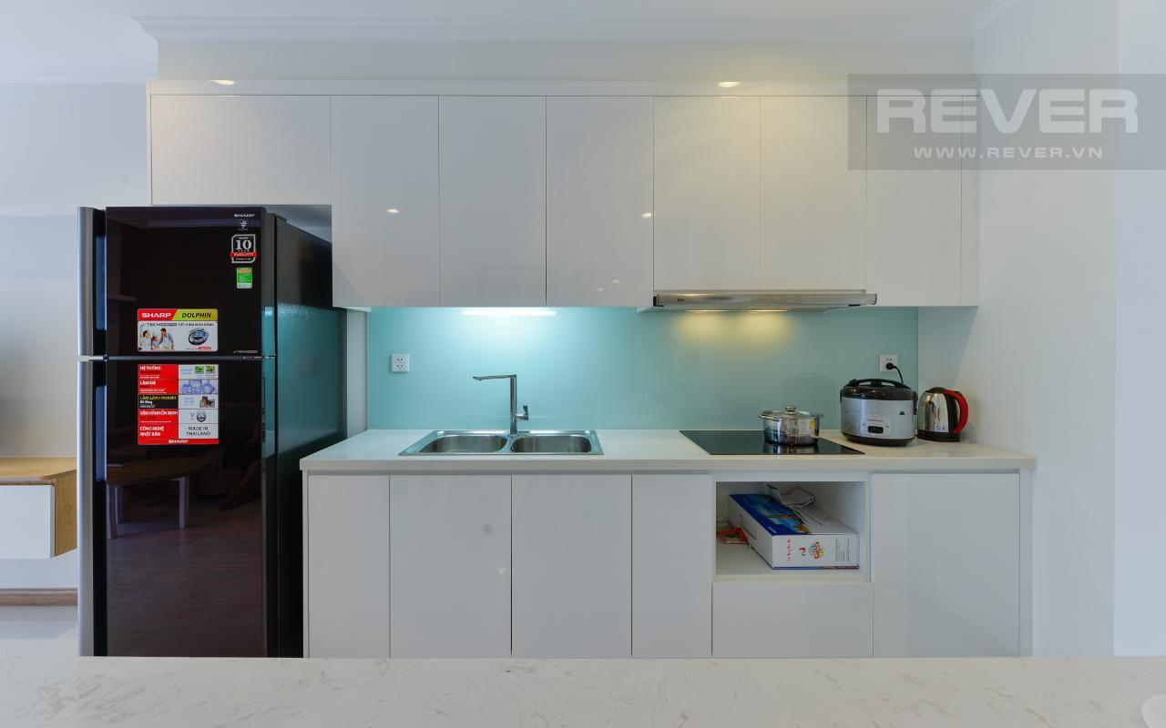 Phòng bếp thiết kế tối giản Căn hộ 1 phòng ngủ C2 Vinhomes Central Park