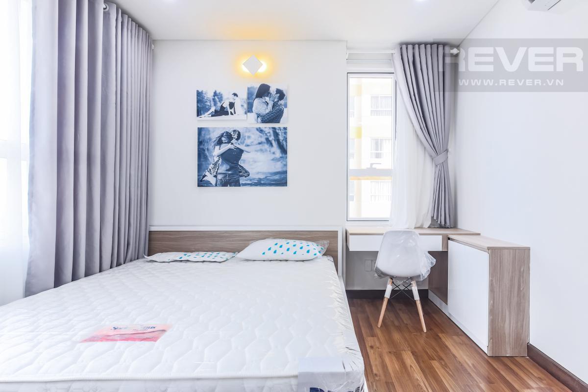 Phòng ngủ chính nằm vị trí góc Căn góc hướng Tây Nam tầng cao tháp A1 Tropic Garden