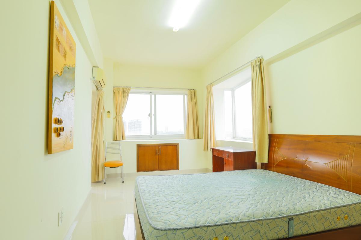 Phòng ngủ 3 cũng ở vị trí góc với hai mặt thoáng Căn góc Mỹ Phát tầng cao hướng Tây Nam